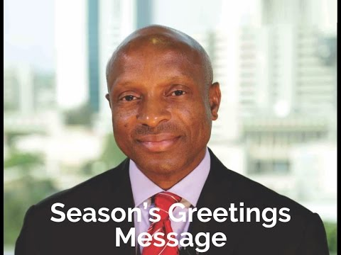 Season's Greetings from the MD/CEO of Zenith Bank Plc