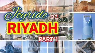Part 1-Joyride to Some Beautiful Spots in Riyadh | Maleha Family Channel
