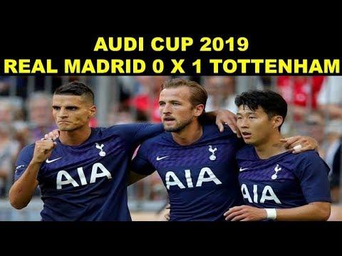 Resumo Real Madrid 0 X 1 Tottenham Audi Cup 2019 Youtube