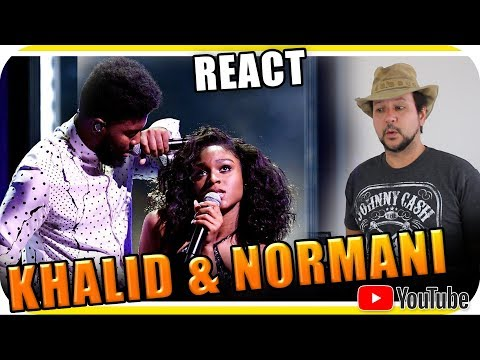 NORMANI & KHALID PERFORMANCE - Marcio Guerra Reagindo React Reação