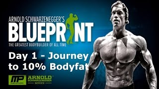 J210 Ep. 1 | JOUŔNEY TO 10% BODY FAT | Arnold's Blueprint to Cut Vlog