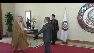 بالفيديو.. خادم الحرمين الشريفين يصل لمقر القمة العربية في الأردن بحضور 16 زعيماً عربياً