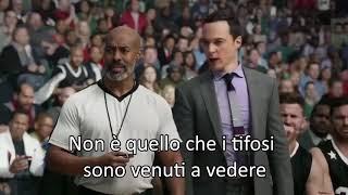 LeBron James e Sheldon Cooper