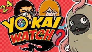Let's Play Yo-Kai Watch 2 Fleshy Souls Gameplay Part 24 | Katie Girl | - Snaggly Spiked Bat