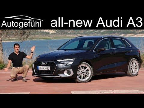 All-new Audi A3 Sportback FULL REVIEW 1.5 TFSI MHEV Design Selection Vs S-line Comparison 2020