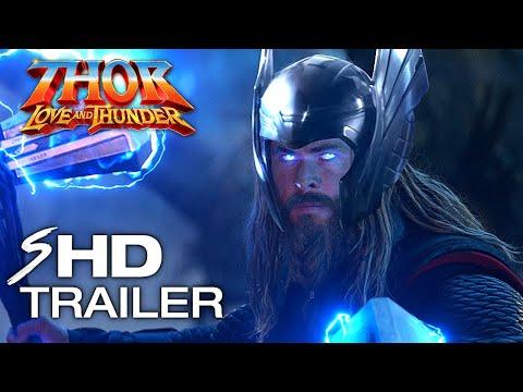 THOR 4: Love and Thunder (2022) Teaser Trailer Concept - Natalie Portman, Chris Hemsworth MCU Movie