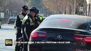 """Drejtuesja e automjetit kundërshton efektivin e policisë """"Shqipëria Live"""
