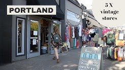 5 X Best vintage stores in Portland (Oregon) // TRAVEL GUIDE // Your Little Black Book