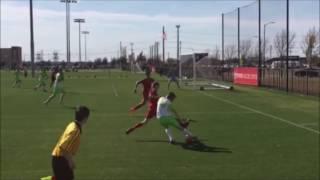 Alex Knepper Soccer Class of 2018 Jenks OK  Sophmore Highlights