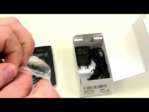 English: Samsung Omnia W unboxing