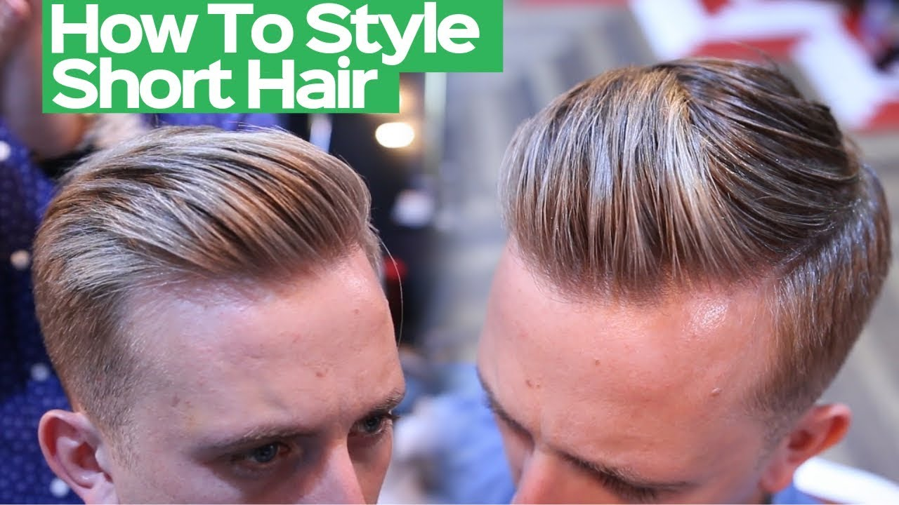 Mens Summer Hairstyle 2019 Mens Short Hairstyle Tutorial 2019 Youtube