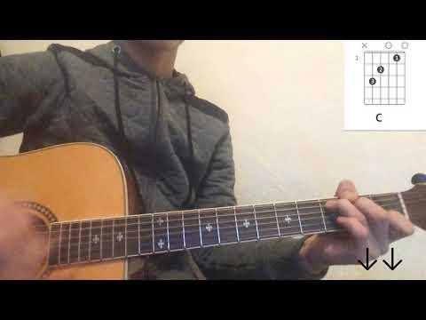 Jah Khalib - Медина на гитаре разбор без баррэ (для начинающих)