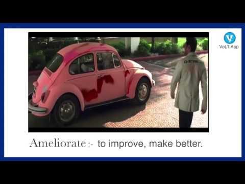 AMELIORATE | Learn English Vocabulary | VoLT Vocabulary App | God Tussi Great Ho