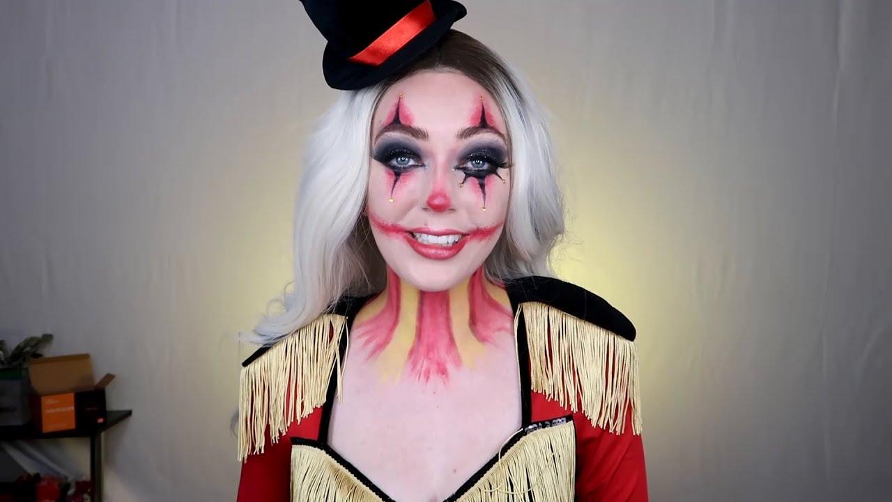Ringmaster Makeup Tutorial - Spirit Halloween