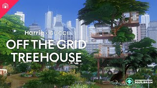 Gucci Off The Grid | Harrie x Gucci | Speed Build Treehouse