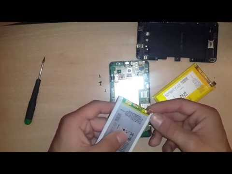 How to change battery on Sony Xperia E4/E4G