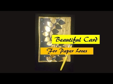 How to make Beautiful and Eazy Greeting Card - Best DIY - Gift - Greeting Cards