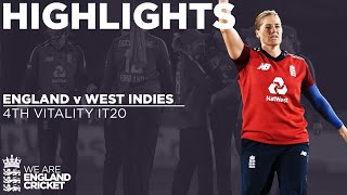 England v West Indies - Highlights | Jones Hits 55 From 37 | 4th Vitality IT20 2020