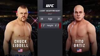 EA UFC 3 Chuck Liddell v Tito Ortiz