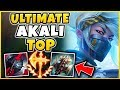 THIS AD CONQUEROR AKALI BUILD IS INSANE!!! SEASON 8 AKALI REWORK GAMEPLAY - League of Legends