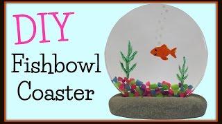 Fishbowl Coaster Art DIY ~ Another Coaster Friday Craft Klatch