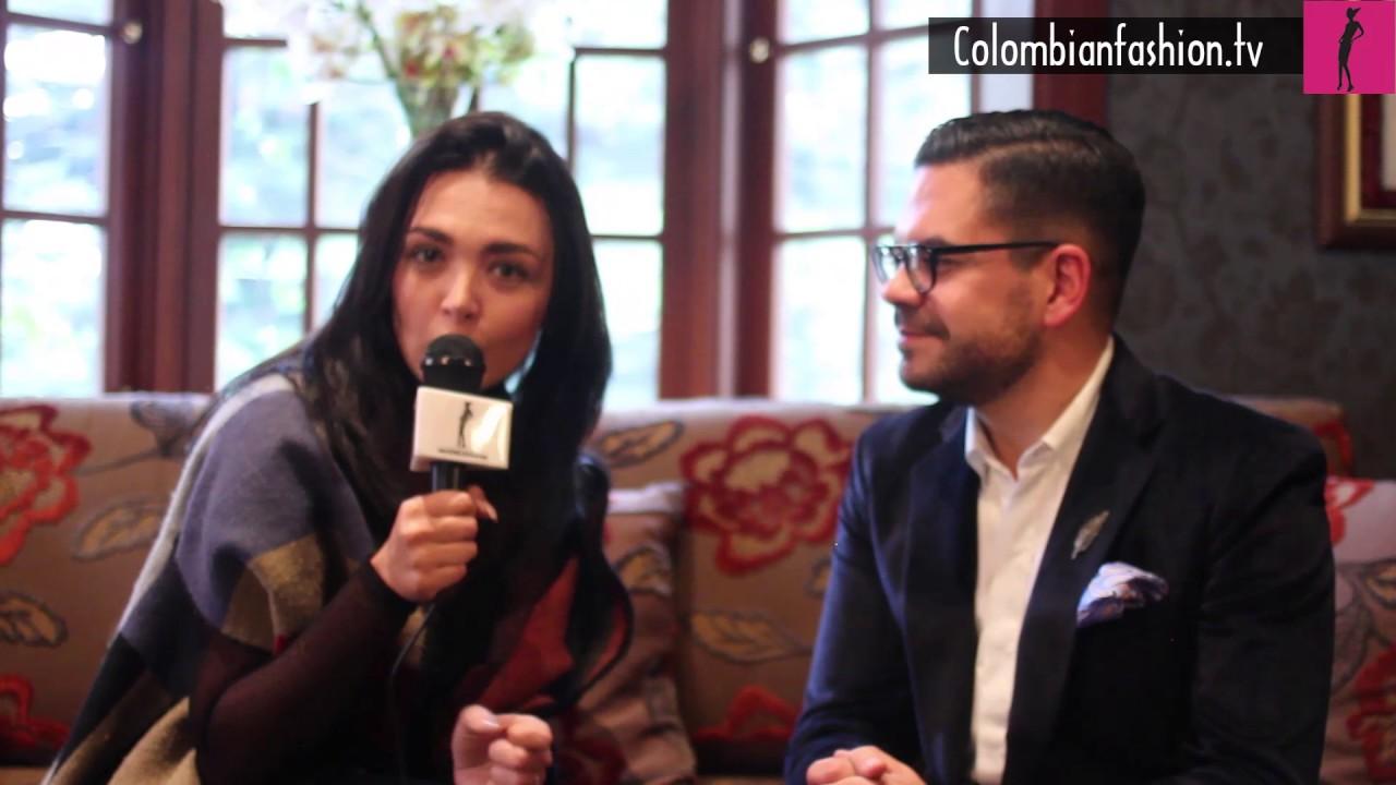 Entrevista Juan Pablo Socarras para el Bogotá Fashion 2017
