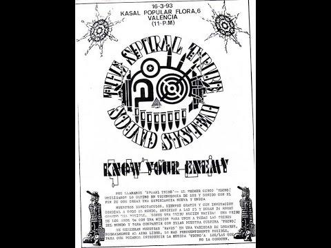 Dj Ké-seb Mix Spiral Tribe Network 23 - SP23 - tracks Mix 100% vinyls  + Histoire de la teuf
