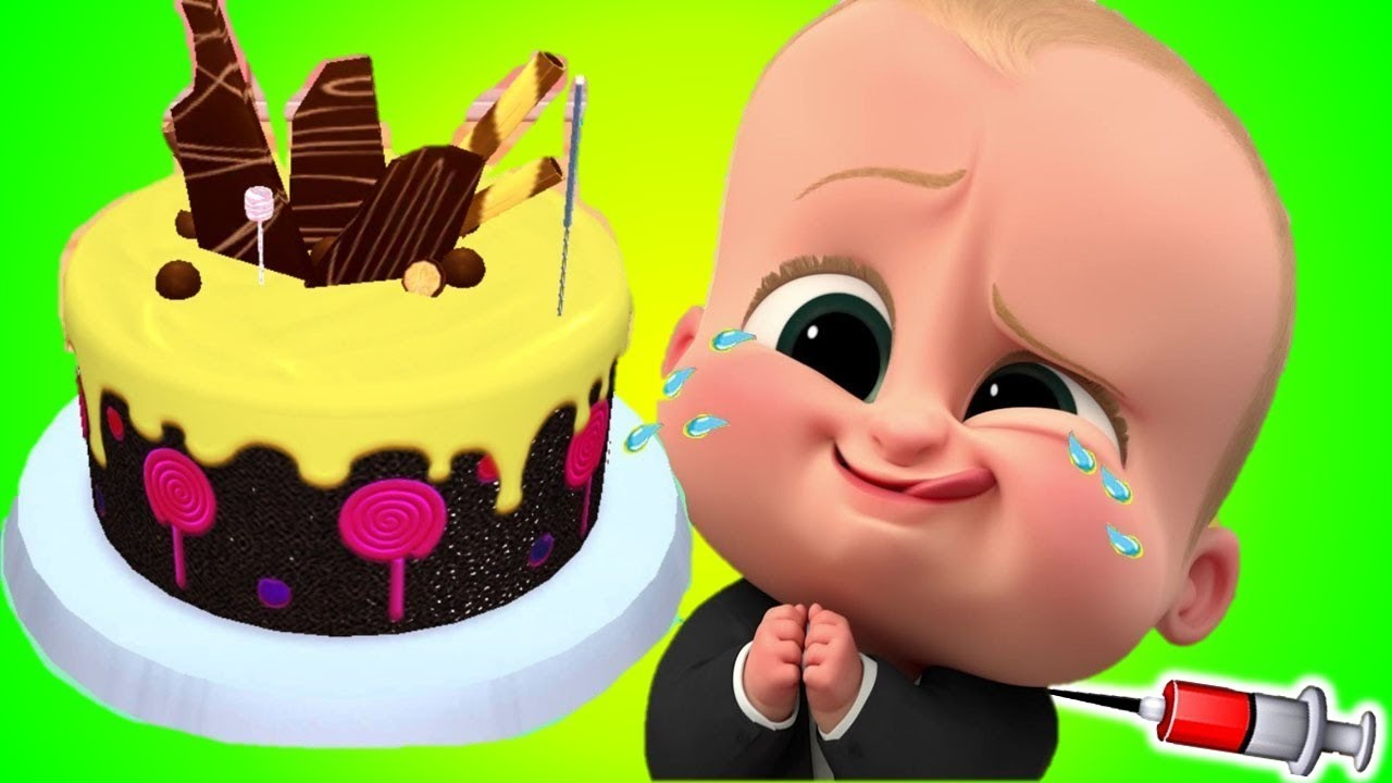 Baby Cake Making Games Real Cake 3D game play for Kids Kids