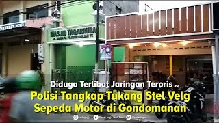 Diduga Terlibat Jaringan Teroris, Polisi Tangkap Dua Orang di Gondomanan