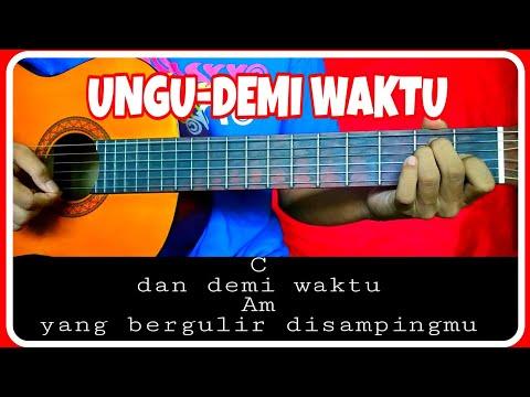 Kunci gitar (UNGU-DEMI WAKTU) Chord dan Lirik