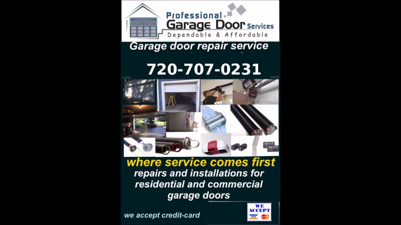 Castle Rock Garage Door Repair | Denver Garage Door Repair