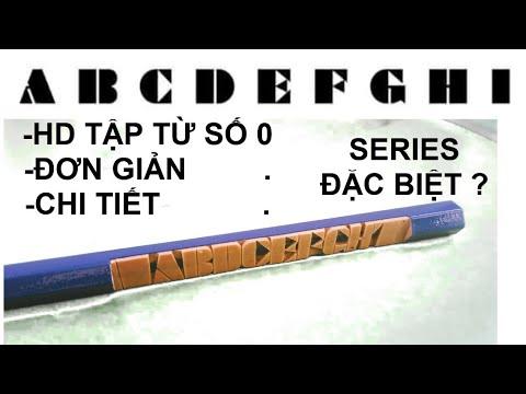 """KHẮC BÚT """"TẬP TỪ SỐ 0 """"-Hướng dẫn tập khắc bút #1-Cơ Bản"""