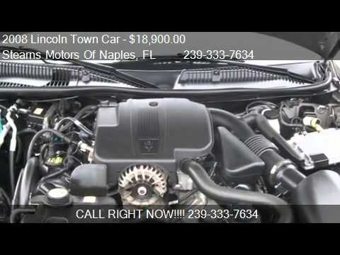 2008 Lincoln Town Car Signature Limited - for sale in ...