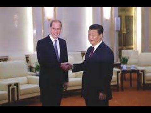 China Backed international Bank Britain Signs @ visit in China first in 30 years