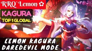 Lemon Kagura Daredevil Mode [Top Global 1 Kagura] | RRQ`Lemon ✿ Kagura Gameplay #25 Mobile Legends