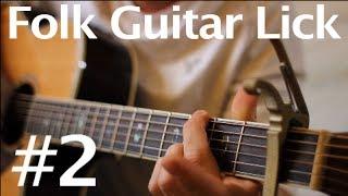 Learn a Folk Guitar Lick #2