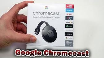 Google Chromecast Unboxing und Einrichtung [Deutsch] 4K