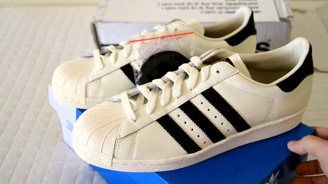 f3a40203d37c96 Unboxing Adidas Superstar 80s Deluxe - ON FEET - - YouTube