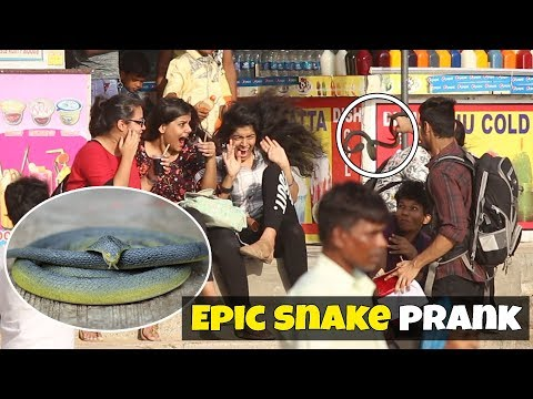 Delivery Guy Snake Prank By Kickjob TV
