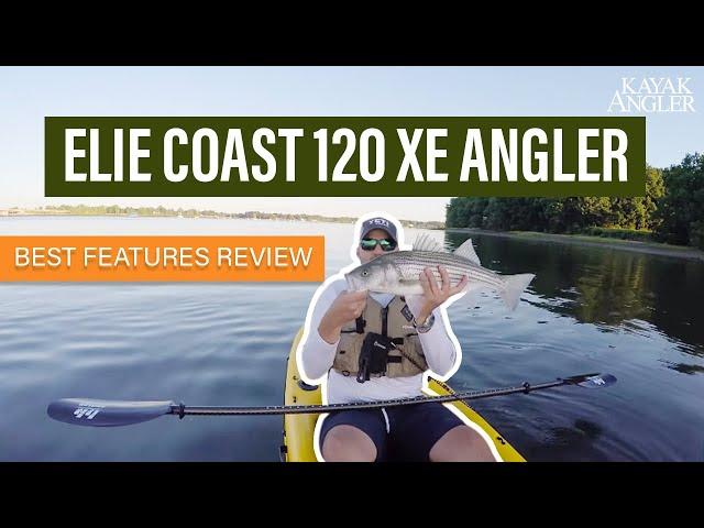 Elie Coast 120 XE Angler | Fishing Kayak | Features Review & Walk Around
