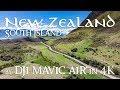 New Zealand South Island by DJI Mavic Air in 4K (紐西蘭南島航拍)