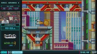 Sonic Advance 3 by KirbyMastah in 1:25:55 AGDQ 2018