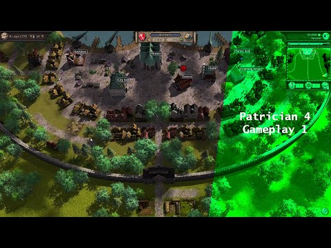 Patrician 4 Gameplay 1 |