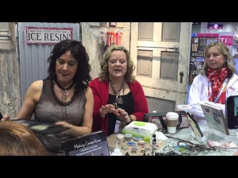 Susan Lenart Kazmer ICE Resin® CHA 2016 Demo