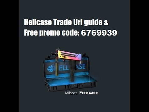 Hellcase trade url guide and promo code 2020 - YouTube