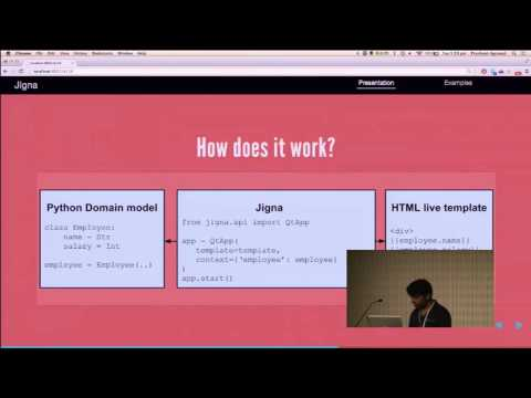 Image from Jigna: a seamless Python-JS bridge to create rich HTML UIs for Python apps