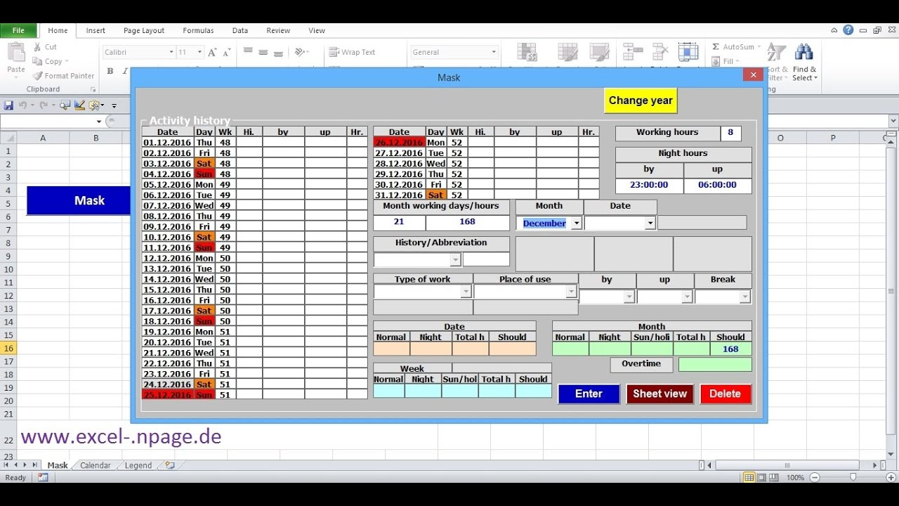 free timesheet program