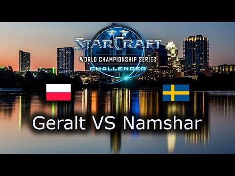 Geralt VS Namshar - EU Open Qualifiers for Challenger WCS Austin 2018 - polski komentarz