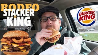 Burger King Rodeo Stacker King Review