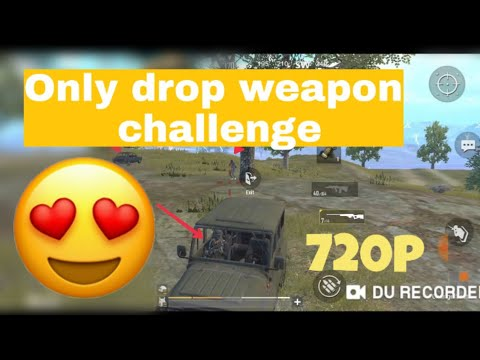 Only Drop Weapon Challenge Gameplay And Finely Chicken Dinner 👱MR Tech Question